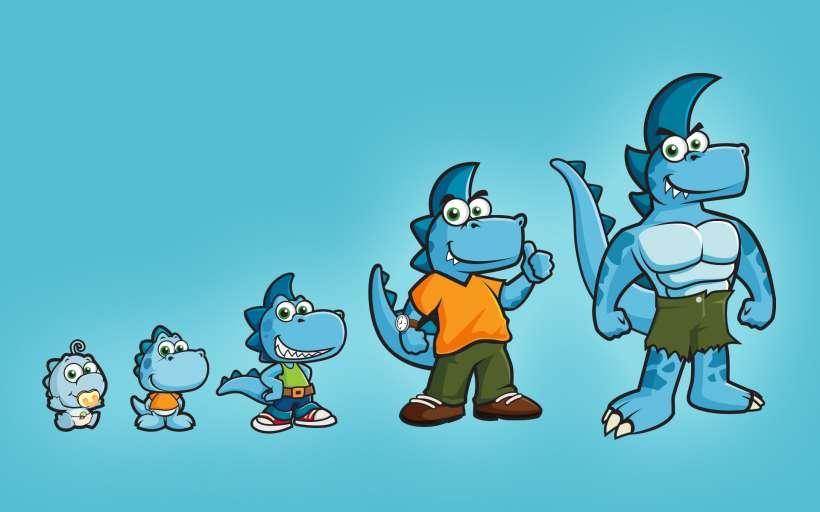 Talkzill-Characters